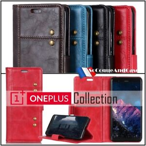 Etui-coque-housse-Rivet-Cuir-PU-Leather-Stand-Wallet-Case-Cover-OnePlus-6T