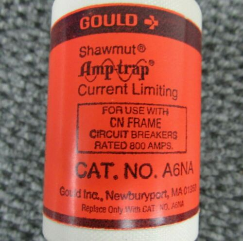 Details about  /GOULD SHAWMUT AMP TRAP A6NA 800 AMP