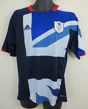 Adidas England Olympic Football Shirt London 2012 Team GB Soccer Mens Medium M