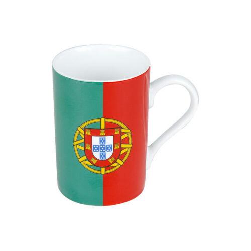 Portugal Kaffee Becher Könitz Porzellan 300ml Länderflaggen Tasse