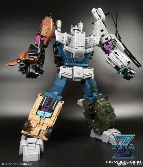 Toy ZetaToys ZA03 Zeta ZT Mix Leopard Left Foot Hot Transformers