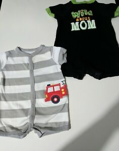 baby boy clothes 3-6 months one piece size 3-6 months and 6 months