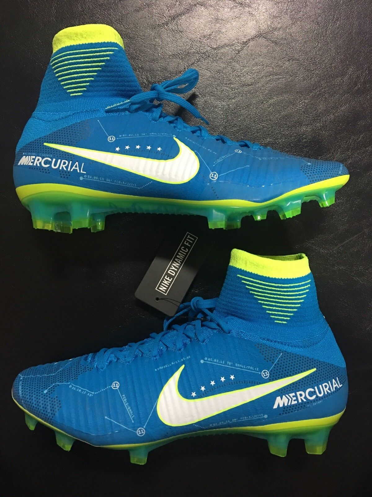 quality design 67151 f57f5 Nike Mercurial Superfly V NJR FG Soccer Cleat Blue Orbit (921499-400)  Neymar Jr 8