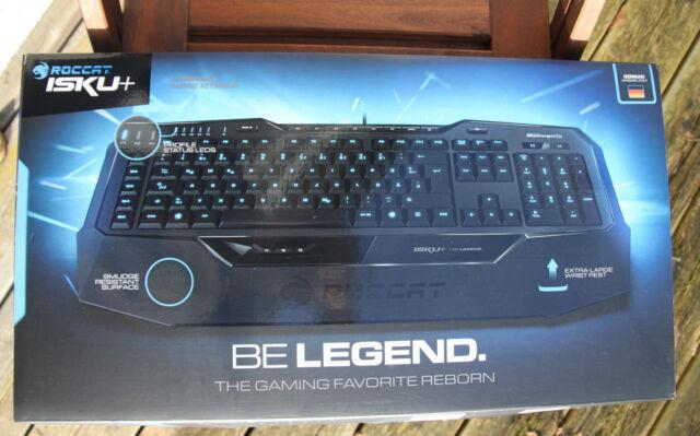 Roccat Isku+ Gaming Tastatur - NEU - beleuchtet - Anti-Ghosting - ROC-12-770