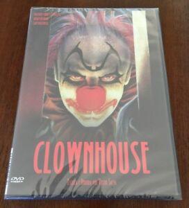 CLOWNHOUSE-ED-1-DVD-NUEVO-EMBALADO-NEW-SEALED-TERROR-DE-LOS-80-81-MIN
