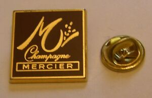 CHAMPAGNE-MERCIER-French-Wine-vintage-pin-badge