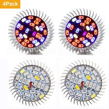 4 x28W Full Spectrum E27 Led Grow Light Growing Lamp Light Bulb For Flower Plant