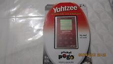 NEW Yahtzee Electronic Handheld Game Slim Pogo from 2009 Sealed FREE Ship!