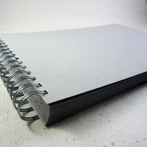 50 Sides Blank Board Scrapbook Blank 100/% Recycled Grey A3//A4//A5 Thick Board
