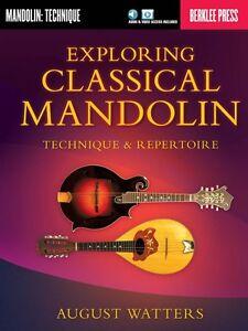 Exploring Classical Mandolin Sheet Music Technique