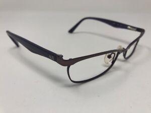 85146df1822 Image is loading Armani-Exchange-AX228-YPH-Shiny-Purple-Metal-Eyeglasses-