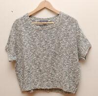 Vm007 Vince Knit Shortsleeves Women Sweater Size M
