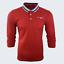 Para-hombre-Plain-Pique-Polo-Gavin-camisa-de-mangas-largas-Top-Calido-Azul-Marino-De-Golf-S-M-L-XL miniatura 27