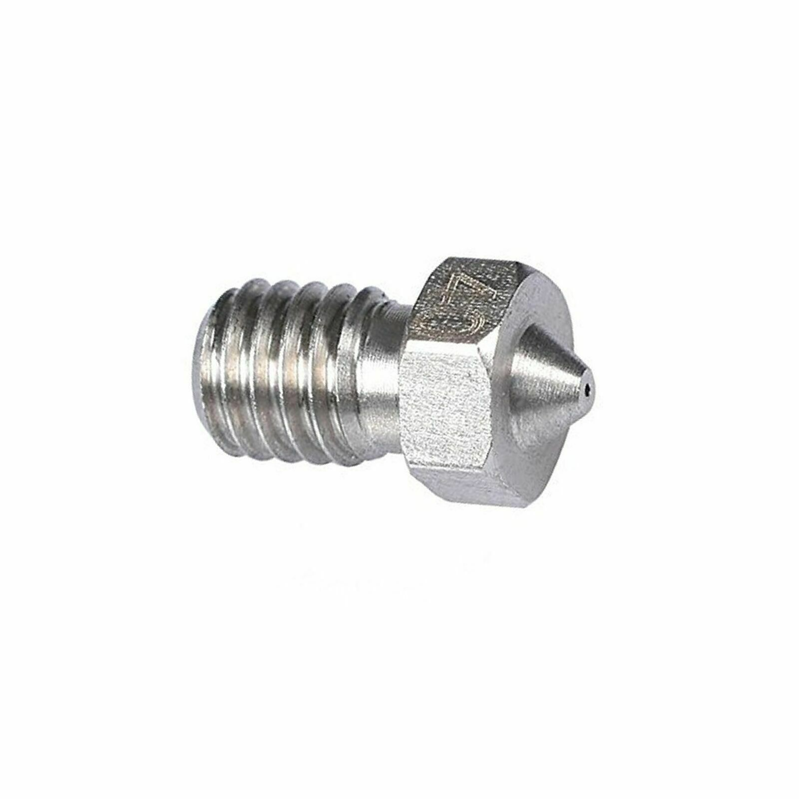 1.75mm FILAMENT  0.4MM MAKERBOT 5PC MK6 3D STAINLESS STEEL NOZZLE M6 ANYCUBIC