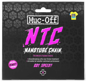 114 links Sram Red Muc-Off Nanotube Ultra Low Friction Bicycle Chain 11sp.