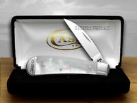 Case Xx Mother Of Pearl Sway Back Gent Pocket Knives on sale
