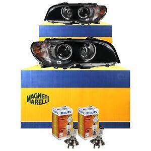 bosch al xenon headlight set for bmw 3 series e46 lci. Black Bedroom Furniture Sets. Home Design Ideas