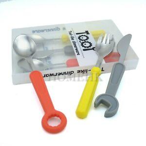 Tool Like Dinnerware Utensil Fork Spoon Knife table stainless steel Dipper Set