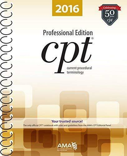 Cpt Professional - By American Medical Association