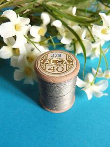 320B// BELLE BOBINE ANCIENNE FIL DMC COTON ALSA N° 40 ROSE BONBON N° 760