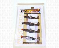 Eagle Strike 1/72 Decals 357th Fighter Group 1 Of 5 Usa P-51 Mustang Ip7202