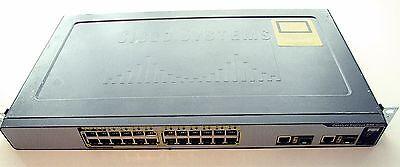Cisco Catalyst Express Ws-ce500-24lc 24 X 10/100 4 X Poe Switch
