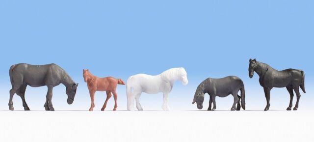 NOCH 18215 Horses 00/H0 Model Railway Figures