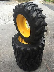 Details about 4-10-16 5 HD Skid Steer Tires - Camso SKS532-10X16 5 New  Holland LX565  LX665