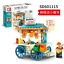 SEMBO Kunststoff Blöcke Laden Straße Gebäude Figur Spielzeug Geschenk Modell