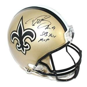 Image is loading Drew-Brees-New-Orleans-Saints-Signed-Autographed-Full- d64ff046d