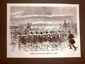 Terza-guerra-d-039-indipendenza-in-Italia-L-039-esercito-passa-il-Mincio-23-giugno-1866