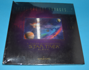 These-Are-the-Voyages-1966-1996-Star-Trek-3-Dimensional-Album-Hardcover-SEALED