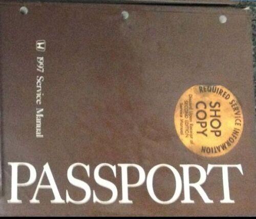 1997 Honda Passport Service Repair Workshop Shop Manual OEM ...