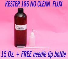 15 Oz Kester 186 Rosin No Clean Soldering Solder Liquid Flux Electronic Grade