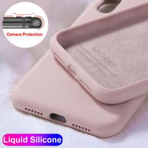Per-Xiaomi-9-Lite-8-Mi-A2-Redmi-Note-8T-8-7-MORBIDA-IN-SILICONE-Pro-Liquid-Custodia-Cover