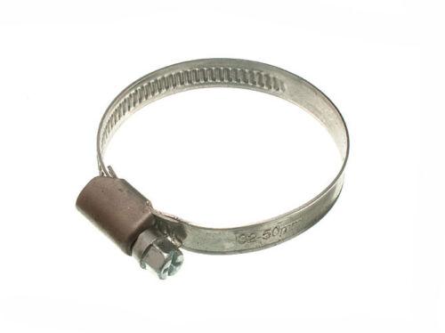 2 X COLLIERS DE SERRAGE type JUBILLEE Clip BZP Résistant aux intempéries 30 mm 50 mm-New