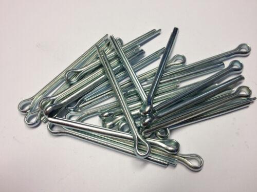 """1//16/"""" x 3//4/"""" SPLIT COTTER PINS STEEL ZINC PLATED QTY 30"""