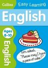 Collins Easy Learning KS2: English Ages 8-10 by Collins Easy Learning (Paperback, 2014)
