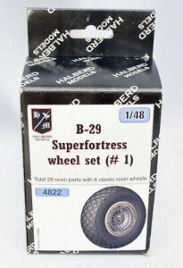 Monogram Halberd Models A-26 Invader wheel set #2 for ICM Revell kit