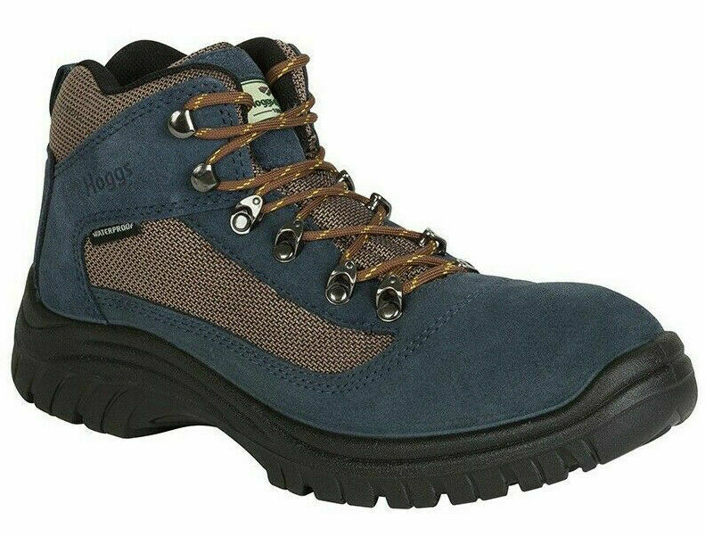 Mens Hoggs Of Fife Rambler Hiking Walking Leather Lace Up Boots Sizes 7 to 12