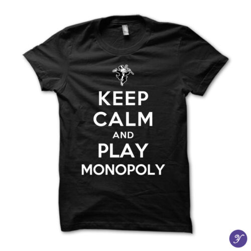 Keep Calm and Play Monopoly dice card games board games table games games