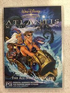 DVD-Atlantis-Milo-s-Return-Walt-Disney-Classics-Region-4