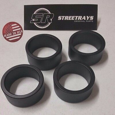 """CAN AM Bombardier Outlander 650 800 ATV Complete 2/"""" Lift Spacer Kit"""