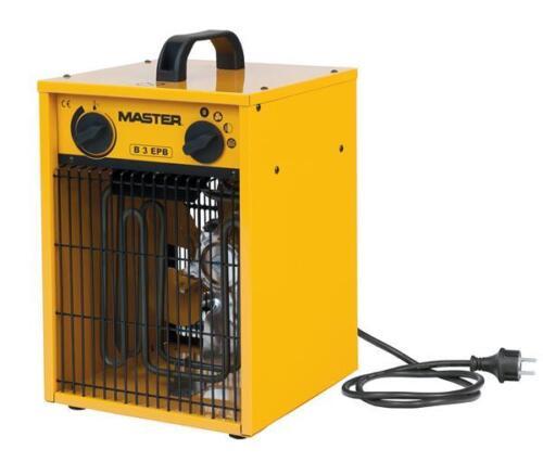 Aérotherme//ELEKTROHEIZER//Bauheizer Master b3.3epb 3,3 kW
