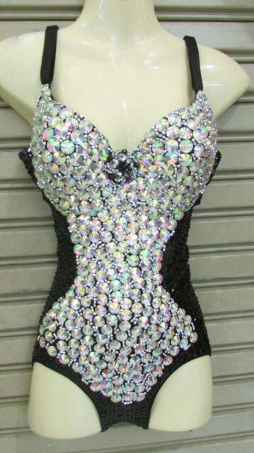 Da NeeNa L046  Fairy of Crystal Burlesque Leotard  Bodysuit  XS-XL