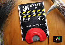 FIELD PROVEN CALLS 3 REED SPLIT V DIAPHRAGM MOUTH TURKEY CALL
