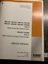 Case Alpha Series Skid Steer Loader Compact Track Loader Service Manual