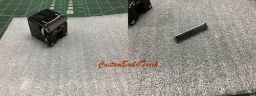 Custom DCP Peterbilt 352 Cabover chrome stainless steel Visor 1//64