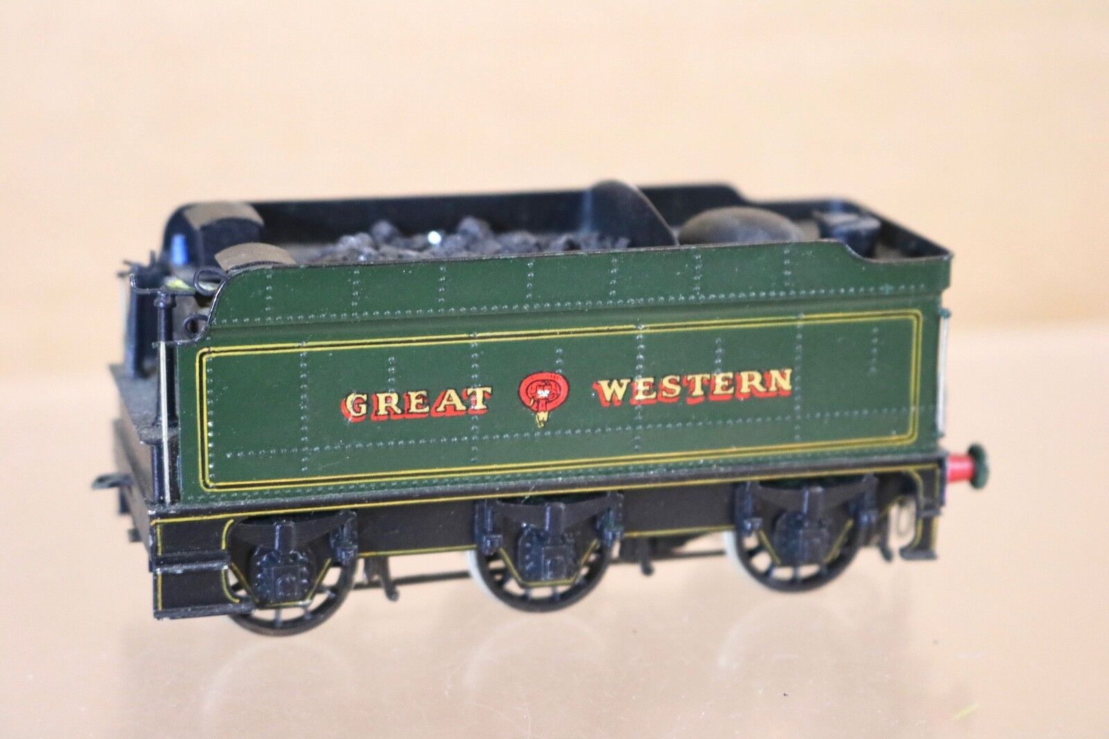 MALCOLM MITCHELL EM GAUGE KIT BUILT BRASS GWR GW HALL CLASS LOCO TENDER ONLY np