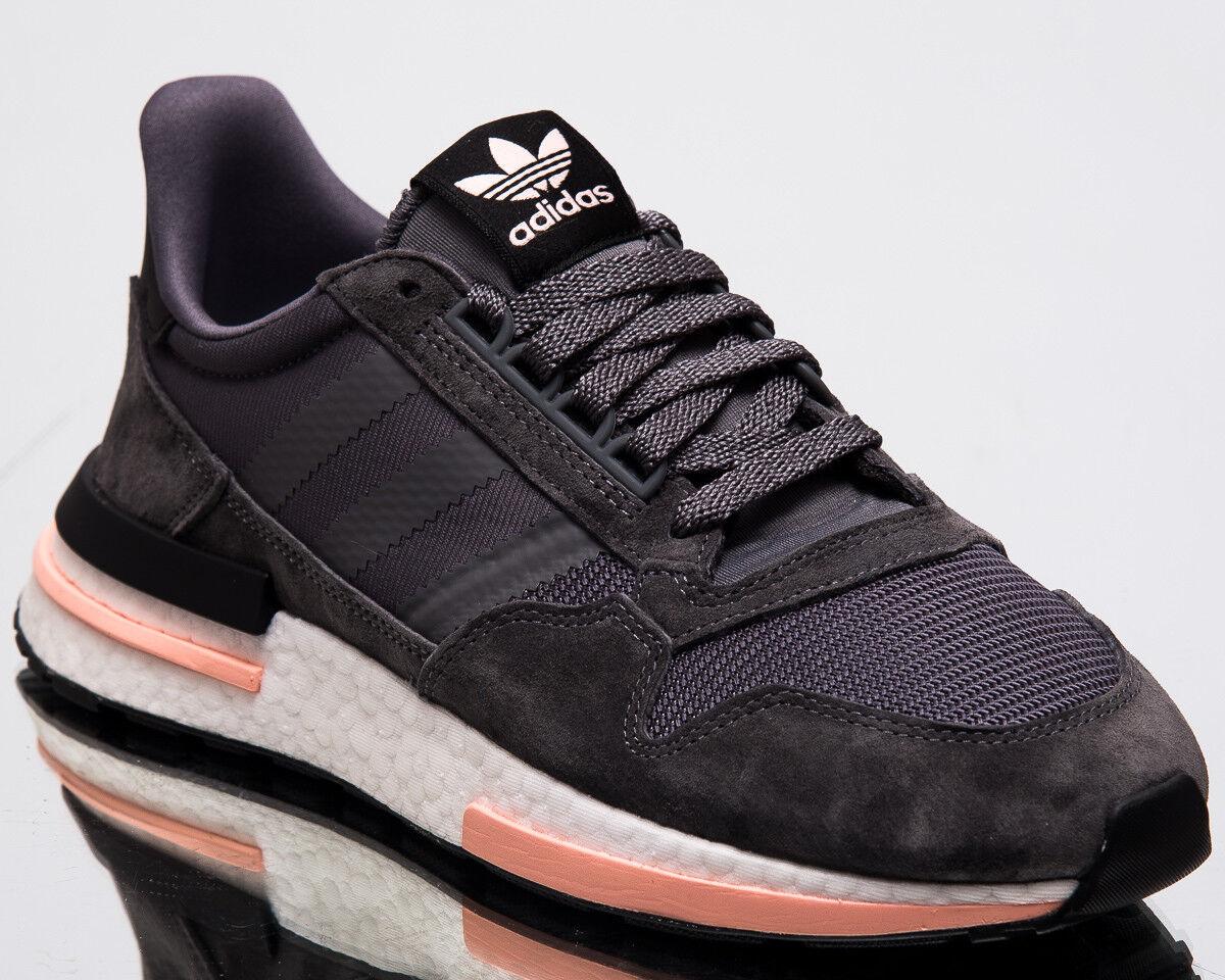 adidas Originals Orange ZX 500 RM Men New Grey White Orange Originals Lifestyle Sneakers B42217 5de0e6